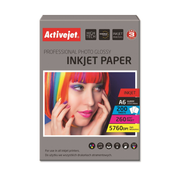Activejet AP6-260GR200 photo paper for ink printers