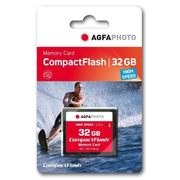AgfaPhoto USB & SD Cards Compact Flash 32GB SPERRFRIST 01.01.2010 memory card CompactFlash