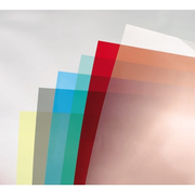 GBC ColorClear Binding Covers Red 180 Micron (100)