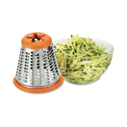 Moulinex DJ8115 electric grater Red, White
