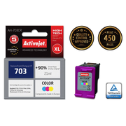 Activejet ink for Hewlett Packard No.703 CD888AE