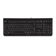 CHERRY KC 1000, Standard, Wired, USB, QWERTZ, Black