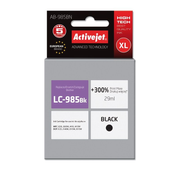 Activejet ink for Brother LC985Bk, Compatible, Pigment-based ink, Black, Brother, Brother MFC: J220, J265W, J410, J415W. Brother DCP: J125, J140W, J315W, J515W., 1 pc(s)