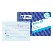 Avery 300 administration book Blue, White