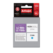Activejet ink for Brother LC1100/LC980C