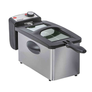 Steba DF 180 Single 3 L Stand-alone 2000 W Stainless steel