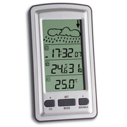 TFA-Dostmann 35.1079 digital weather station Silver
