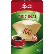 Melitta 12603.3 coffee filter 40 pc(s) Brown Disposable coffee filter