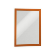 Durable DURAFRAME A4 magnetic frame Orange