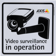 Axis Surveillance Stickers (10-Pack)