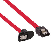 InLine 27303W SATA cable 0.3 m Red