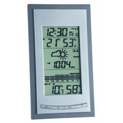 TFA-Dostmann 35.1078.10.IT Digitale Wetterstation Grau, Silber