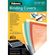 Fellowes 5377201 binding cover A4 Plastic, PVC Red, Transparent 100 pc(s)
