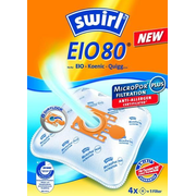 Swirl EIO 80, Orange,White, EIO BS 80 - 88, 4 pc(s), 1 pc(s)