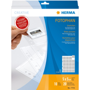 HERMA Slide pockets for 35 mm slides film clear 10 pockets
