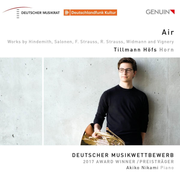 Air: Works by Hindemith, Salonen, F. Strauss, R. Strauss, Wimann and Vignery