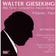 Walter Gieseking: His First Concerto Recordings, Vol. 2