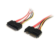 StarTech.com 12in 22 Pin SATA Power and Data Extension Cable