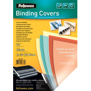 Fellowes Transparent Smoked PVC Covers
