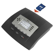 Tiptel 570 office, SD answering machine 240 min Black, Silver