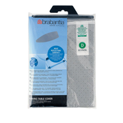 Brabantia 264528 ironing board cover Silicone Grey