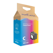Wecare WEC1301 ink cartridge 1 pc(s) Cyan, Magenta, Yellow