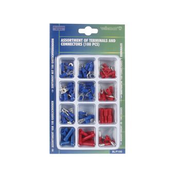 Velleman BL/F100 wire connector Blue, Red