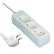 REV 512342555 surge protector White 3 AC outlet(s) 250 V 1.4 m