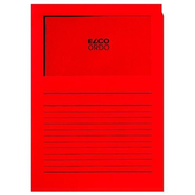 Elco Ordo Cassico 220 x 310 mm report cover Paper Red