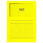 Elco Ordo Cassico 220 x 310 mm report cover Paper Yellow