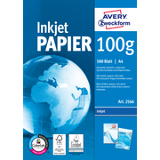 Avery Zweckform Bright White Inkjet Papier A4 500 Sheets printing paper A4 (210x297 mm) Satin-matt