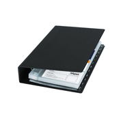 Sigel VZ300 business card holder Plastic Black