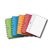 Adoc Colorlines A5 writing notebook 72 sheets Multicolour