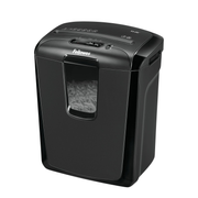 Fellowes M-8C paper shredder Cross shredding 23 cm Black