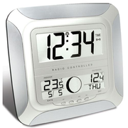 Technoline WS 8118 wall clock Digital wall clock Square Silver