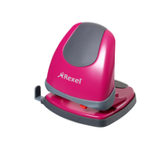Rexel Easy Touch Low Force 2 Hole Punch Pink