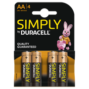 Goobay LR6 4-BL Duracell Simply Single-use battery AA Alkaline