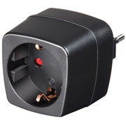 Brennenstuhl 1508470 power adapter/inverter Indoor Black