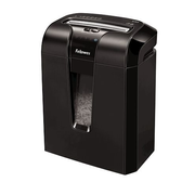 Fellowes 63Cb paper shredder Cross shredding 23 cm Black
