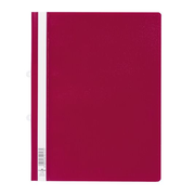 Durable Clear View Folder Präsentations-Mappe PVC Rot