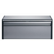 Brabantia Matte Steel Fall Front Bread Box Rectangular Stainless steel 1 pc(s)