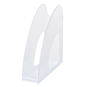 HAN TWIN magazine rack Plastic Transparent