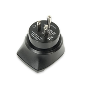 Ansmann 1250-0002 power plug adapter Type F Black