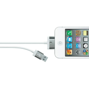 Belkin F8J041CW2M-WHT mobile phone cable White 2 m USB A Apple 30-pin