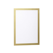 Durable DURAFRAME A4 magnetic frame Gold