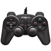 Bigben Interactive PS3PAD Gaming-Controller Schwarz USB Gamepad Analog PC, Playstation 3