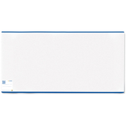 HERMA book cover 265x540 mm normal length blue border