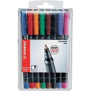 STABILO OHPen universal permanent, 8 Pack permanent marker