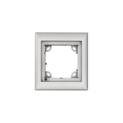 Mobotix MX-OPT-FRAME-1-EXT-SV, Silver, 131 x 18 x 143 mm, 131 mm, 143 mm