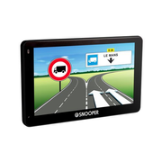 "Snooper PL2200, Danish, German, Dutch, English, Spanish, Finnish, French, Italian, Norwegian, Polish, Portuguese,..., All Europe, 10.9 cm (4.3""), 480 x 272 pixels, LCD, Horizontal"